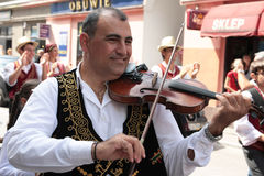 Cyprus traditional folk group stock photography