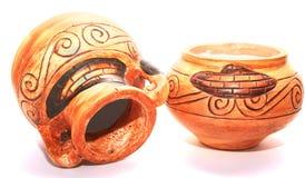 Cyprus vases Stock Image