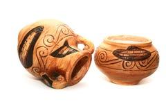 Cyprus vases Stock Photography