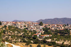 Cyprus. View of the mountain village of Lefkara. Stock Images