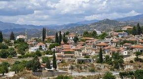 Cyprus Village of Kato Drys Stock Image