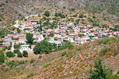 Cyprus village Royalty Free Stock Images