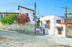 In Cyprus village Royalty Free Stock Images