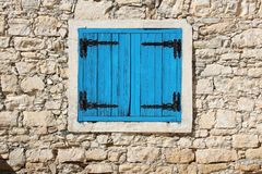 Cyprus window Royalty Free Stock Photos