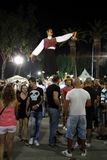 Cyprus wine festival royalty free stock photography