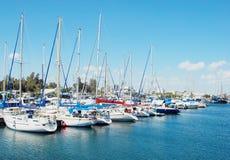 Cyprus yachts Stock Image