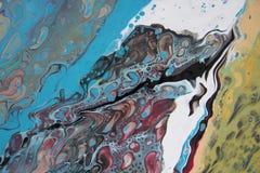 Cyraneczka abstrakt 1-9 Obraz Royalty Free