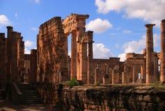 Cyrene archaeological site, Cyrenaica, Libya - UNESCO World Heritage Site. Royalty Free Stock Images