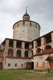 Cyril-Belozersky Klooster, Kirillov, Rusland Stock Foto's