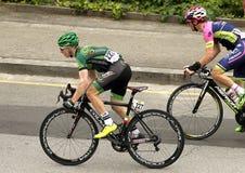 Cyril Gautier di Team Europcar Fotografie Stock
