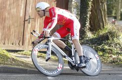 Cyril Lemoine Cyclist French Stock Photography