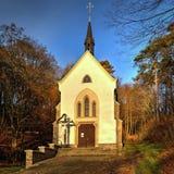 Cyril Methodius Chapel dans Hamiltony, République Tchèque Images stock