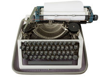 Cyrillic Typewriter Stock Images
