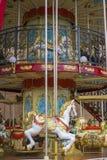 Cyrk, karuzela, piękna gra dla dzieci z colorfu zdjęcie stock