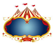 cyrka znak Zdjęcia Royalty Free