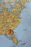 cyrklowa mapa Zdjęcia Stock