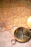 cyrklowa mapa Obrazy Stock