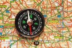 cyrklowa mapa, Fotografia Stock