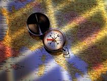 cyrklowa mapa Obraz Royalty Free