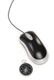 cyrklowa mysz komputerowa Zdjęcie Royalty Free