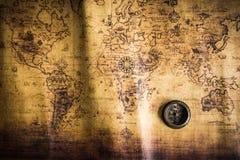 cyrklowa stara mapa Obrazy Stock