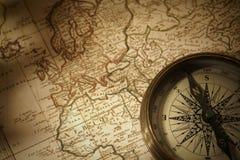 cyrklowej mapy rocznik obraz royalty free