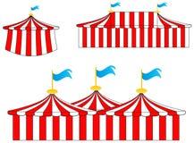 cyrkowi namioty Zdjęcie Royalty Free
