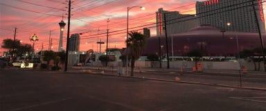 Cyrkowy cyrk; Wschód słońca obraz stock
