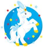 Cyrkowy koń Zdjęcie Royalty Free