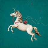 Cyrkowy koń Obraz Royalty Free