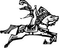 Cyrkowy koń Zdjęcie Stock