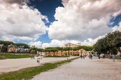 Cyrkowy Maximus Massimo w Rzym lub Circo zdjęcie royalty free