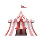 Cyrkowy namiot Zdjęcia Royalty Free