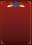cyrkowy plakat Zdjęcie Royalty Free