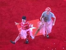 Cyrkowy przedstawienia tło Zdjęcie Royalty Free