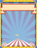 Cyrkowy tła Vertical Zdjęcia Stock