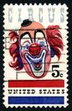 Cyrkowy usa znaczek pocztowy Fotografia Royalty Free