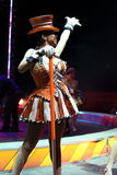 Cyrkowy wykonawca Fotografia Royalty Free