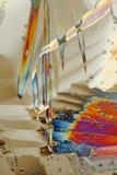 Cyrstals coloridos del hielo fotografía de archivo