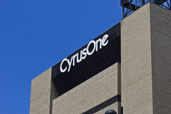 CyrusOne辛辛那提数据中心设施II 免版税库存图片