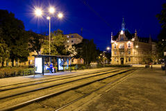 Cyryle Ratajskiego Square in Poznan Stock Images
