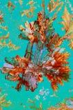 Cystals variopinti dell'acido ascorbico Fotografia Stock Libera da Diritti
