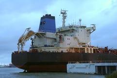 cysterna ropę portu Zdjęcia Royalty Free
