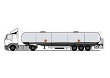 cysternowa ciężarówka Obraz Royalty Free