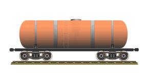 Cysternowy furgon ilustracji