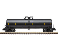Cysternowy linia kolejowa samochód Obrazy Stock