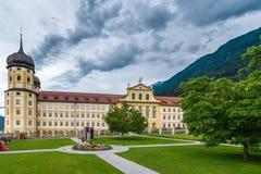 Cysterski Stams opactwo w Imst, Austria zdjęcia stock