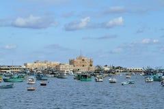 Cytadela Aleksandria w Egipt obrazy stock