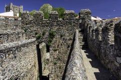 Cytadela, Braganca, Portugalia Fotografia Stock
