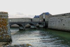 Cytadela Portowy Louis, Brittany, Francja Obrazy Royalty Free